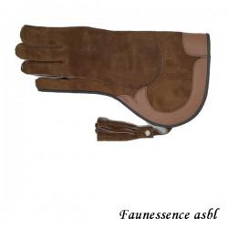 """Gant double couche """"brun"""""""
