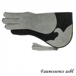 """Gant double couche """"gris et noir"""""""